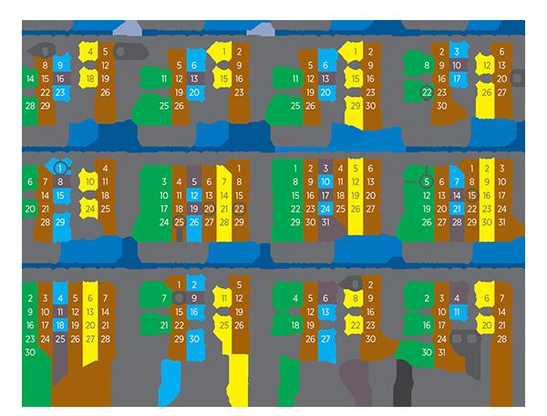 Kalendar odvoza otpada 2019. godina