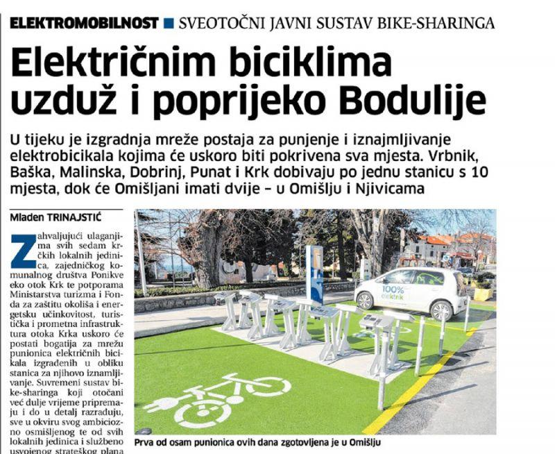 Električnim biciklima uzduž i poprijeko Bodulije