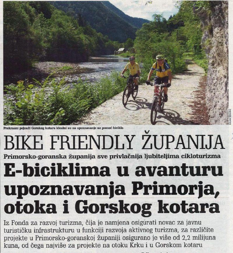 E-biciklama u avanturu upoznavanja Primorja, otoka i Gorskog kotara